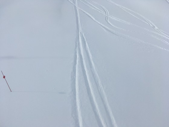 We love making our lines on a powder day