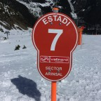 The red run Estadi it was our favourite run of the day