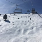 Testing out the moguls