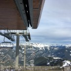 The view from Cubil chairlift