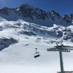 Beautiful view of La Coma chairlift
