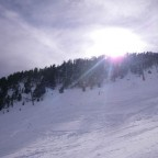 Sunshine through cloud