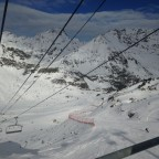 Stunning view from La Coma chairlift