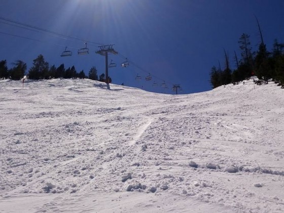 Red slope Coms was our piste of the week!
