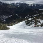 The top of the only black run in Pal - La Comellada
