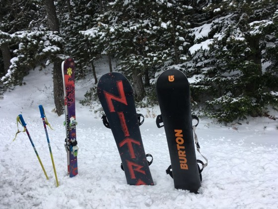 Time to dust off our freeride gear and enjoy a powder day