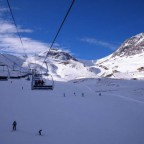 View from the Port Negre chair lift.