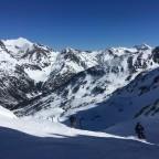 The red slope La Portella del Mig