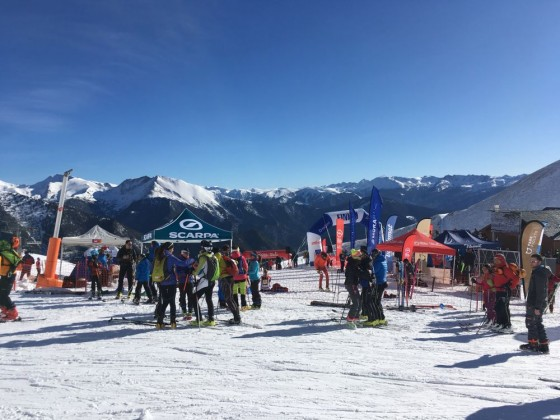 Great atmosphere today in Arinsal thanks to the ISMF Font Blanca World Cup