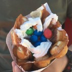 Waffle from La Creperie