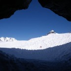 View from inside the Arcalis cave - 10/3/2011