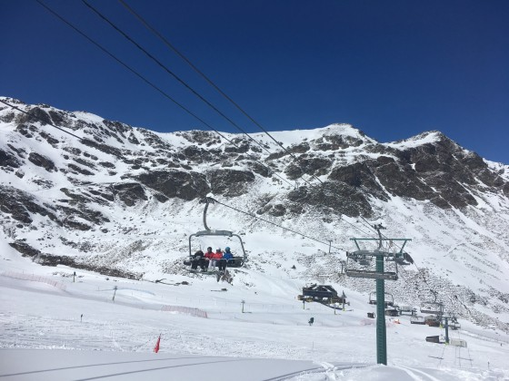 La Coma chairlift in Arcalís