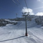 On the Seturia chairlift