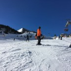 Many people on the slopes of Arinsal due to the New Year's holiday