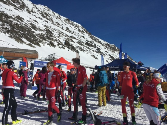 The Swiss skimo team