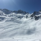 The view from Creussans chairlift