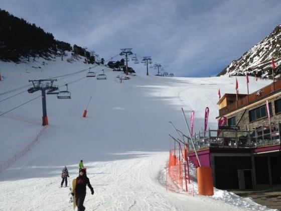 Bottom of the slopes