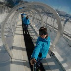 The Andorra Resorts team on the magic carpet of Arinsal