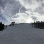 Powder snow quality in Coll de La Botella today