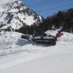 Piste Basher Making The Snow Park