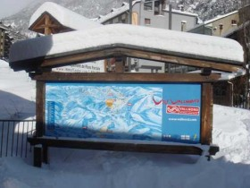 Vallnord Piste Map - 27th January