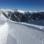 La Solana blue run was our favourite piste of the day