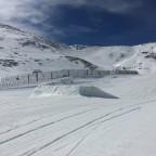 Arinsal Snow Park beginner jumps
