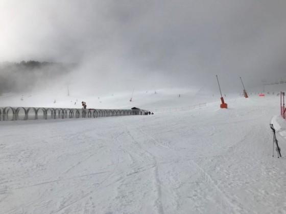Quiet slopes today!