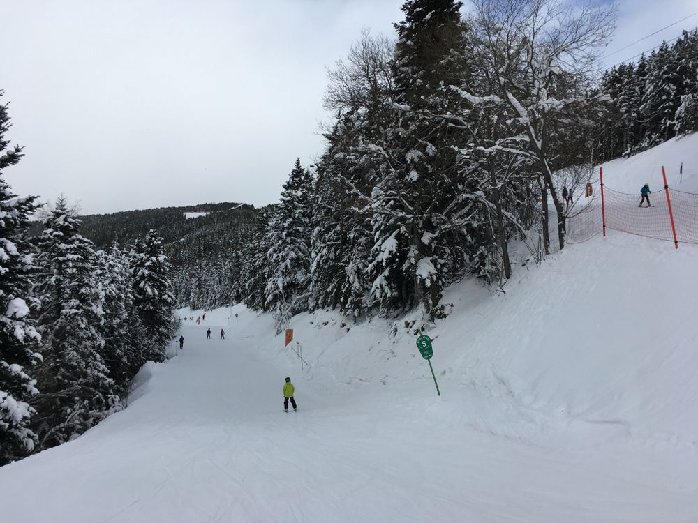 The green slope Transversal is perfect for beginners