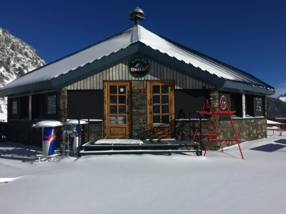 The restaurant Obelix on the slopes of Arinsal will reopen once the slopes are open