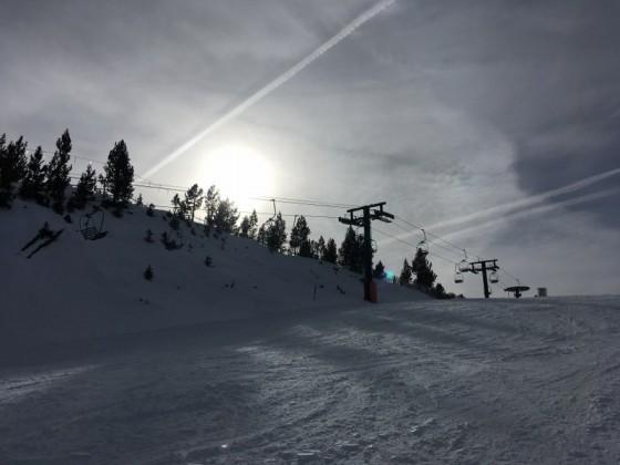 The blue slope La Serra is great for beginners