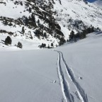 Off piste river run
