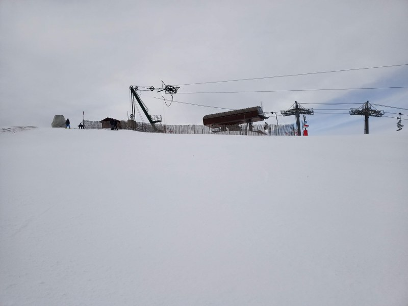 Chairlift Cubil is the highest in the area of Pal