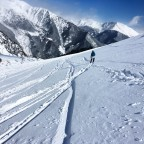Grabbed our skis to draw on the slopes of Arinsal