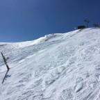The red slope Tub Estadi was quiet today
