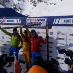 Winners of the individual race of the Font Blanca ISMF World Cup