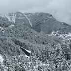 The amazing view from Cubil chairlift