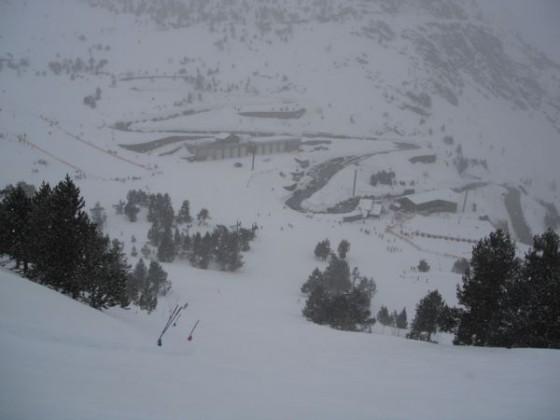 View down El Bosc red 27/01
