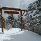 The entry to the Vallnord Comencal Bike park