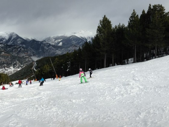 Nice wide slopes in Pal