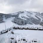 Pla de la Cot covered in snow