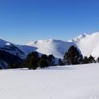 White view from Seturia skimo run