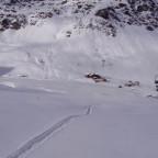 Powder tracks to La Coma