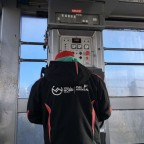 Inside the cable car that links Pal and Arinsal