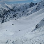 Stunning view from La Basera chairlift