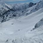 Stunning view from La Basera chairlift