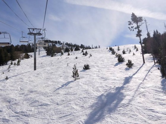 La Botella chairlift is one of the essentials in Pal