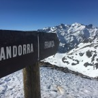 We went to the border between France and Andorra