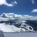 The view of Pal from the top of Arinsal