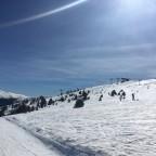 Bluebird skies on the Cami Superior